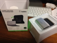 iPhone5用ドック Belkin Desktop Dock iPhone 5購入