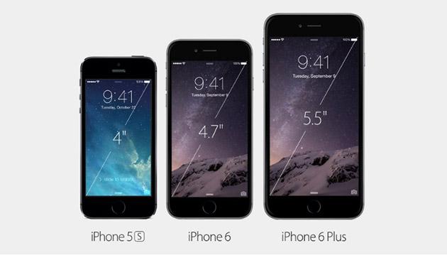 iPhone6とiPhone6 plusの特徴と両モデルの違い