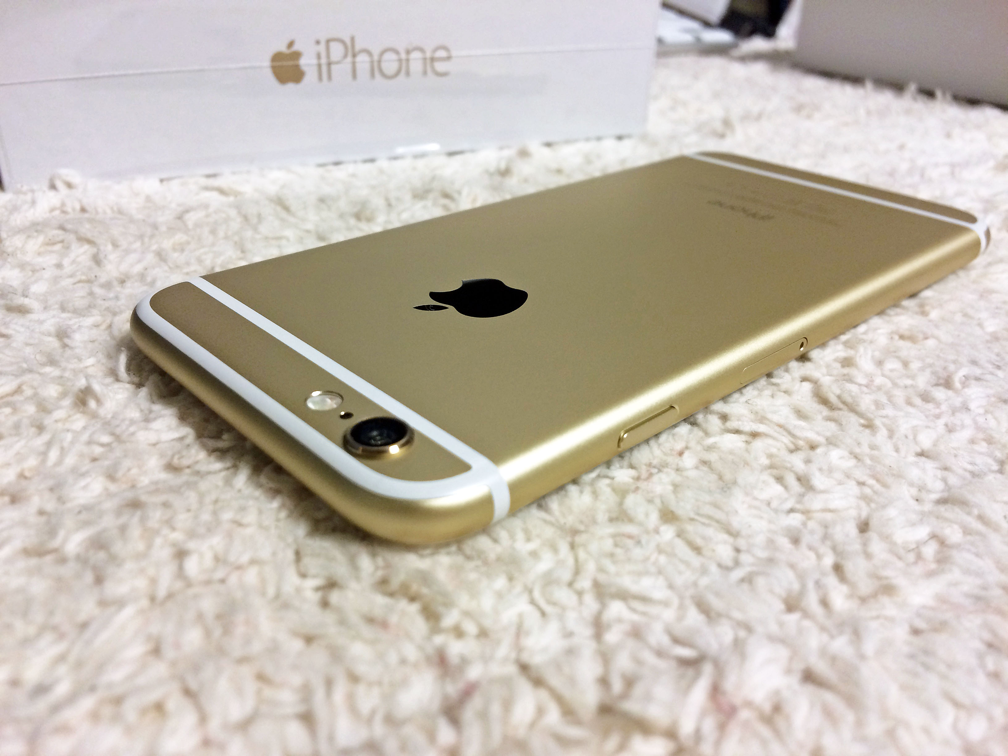 オンライン注文で届いたiPhone6SIMフリーを初期設定しました