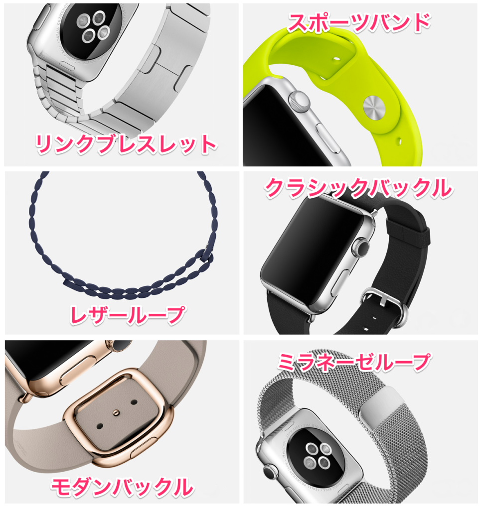 applewatch_バンド