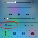 「AirDrop」iPhone/iPadでワイヤレスで簡単にコンテンツ共有が出来る機能
