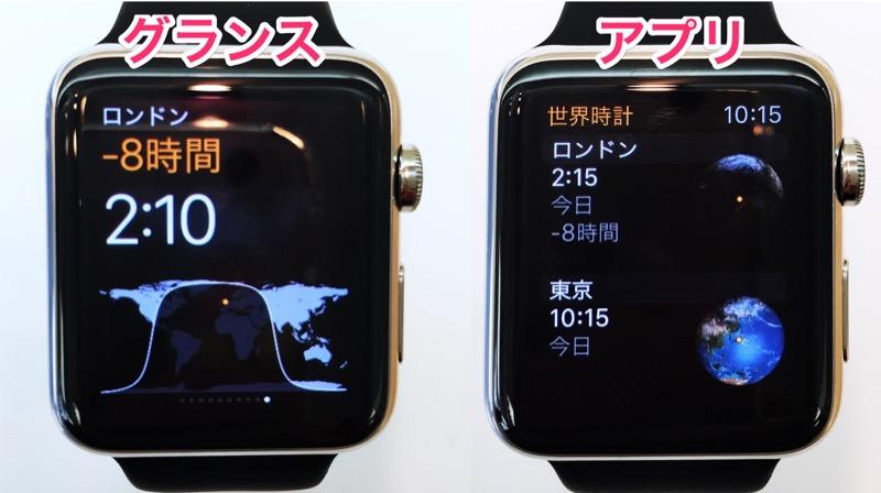 世界時計グランスアプリ