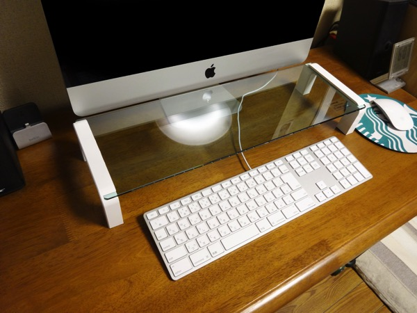すべての講義 パソコン キーボード 使い方 : ガラス製机上台でパソコン ...
